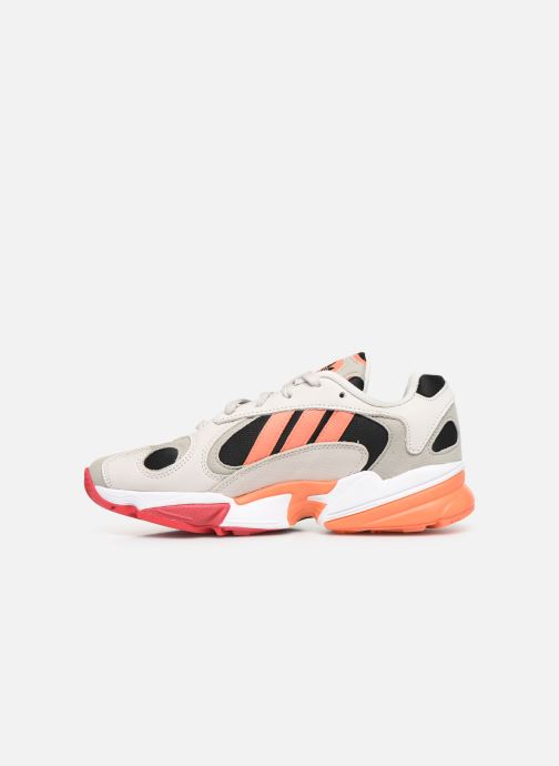Trainers adidas originals Yung-1 W Grey front view