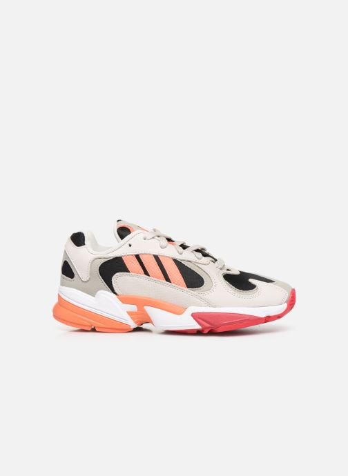 Trainers adidas originals Yung-1 W Grey back view