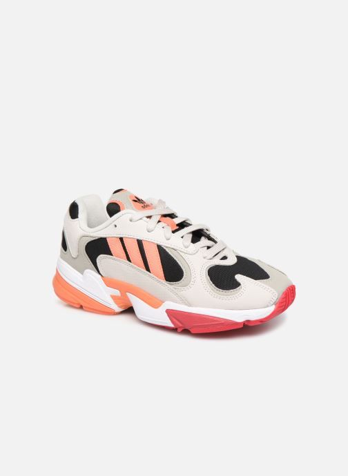 Trainers adidas originals Yung-1 W Grey detailed view/ Pair view