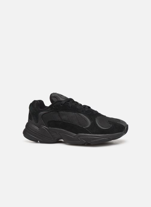 Trainers adidas originals Yung-1 W Black back view