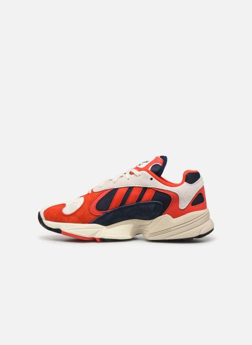 Sneaker adidas originals Yung-1 rot ansicht von vorne