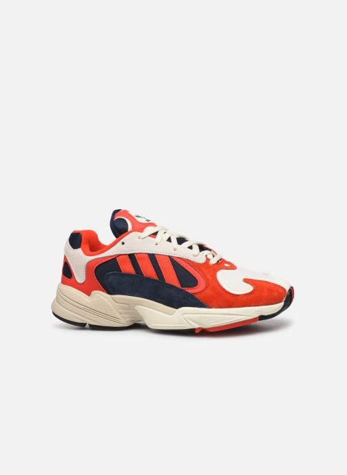 Sneakers adidas originals Yung-1 Rood achterkant