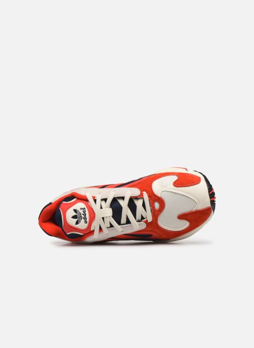 Baskets adidas originals Yung-1 Rouge vue gauche