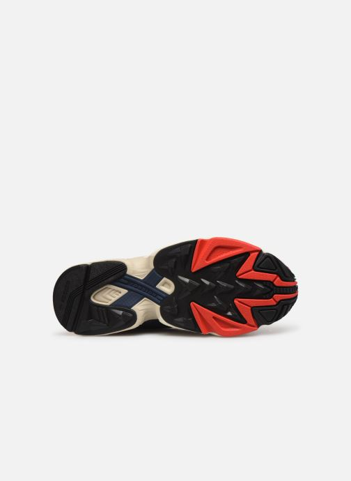 Baskets adidas originals Yung-1 Rouge vue haut