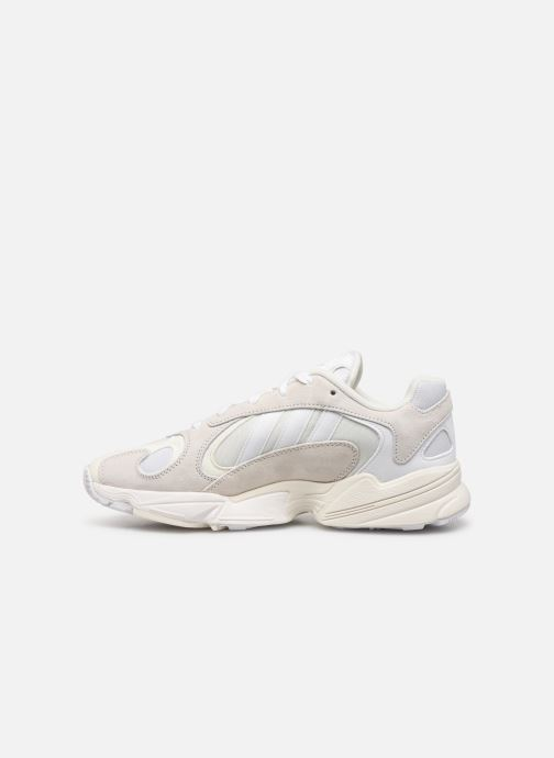 Baskets adidas originals Yung-1 Blanc vue face