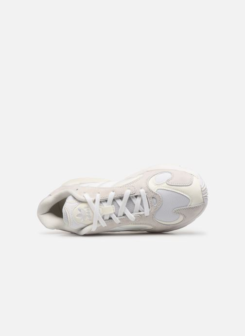 Baskets adidas originals Yung-1 Blanc vue gauche