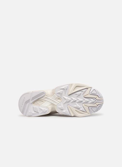 Deportivas adidas originals Yung-1 Blanco vista de arriba
