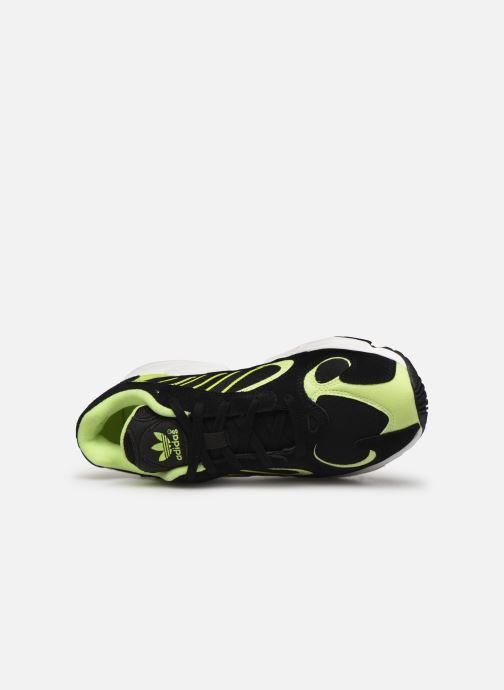 Baskets adidas originals Yung-1 Noir vue gauche