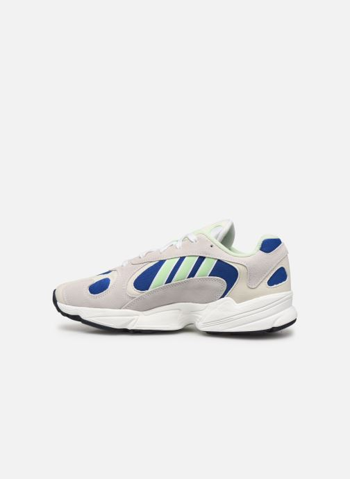 Trainers adidas originals Yung-1 Grey front view