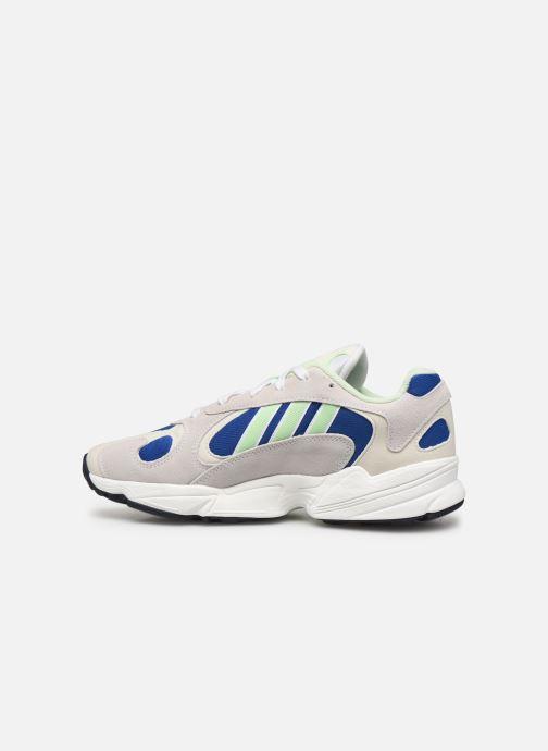 Sneakers adidas originals Yung-1 Grijs voorkant