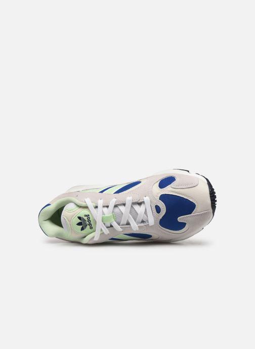 Baskets adidas originals Yung-1 Gris vue gauche
