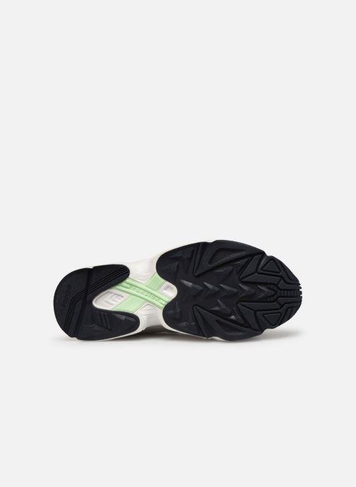 Baskets adidas originals Yung-1 Gris vue haut