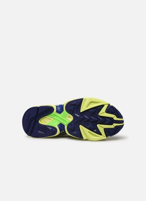 Baskets adidas originals Yung-1 Vert vue haut