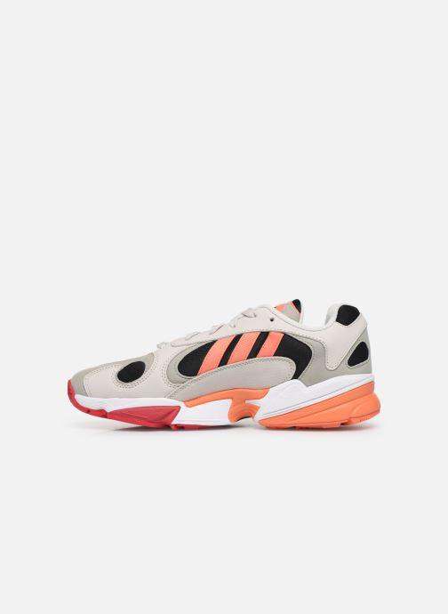 Sneaker adidas originals Yung-1 grau ansicht von vorne