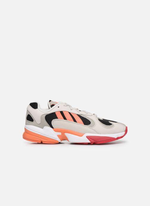 Baskets adidas originals Yung-1 Gris vue derrière