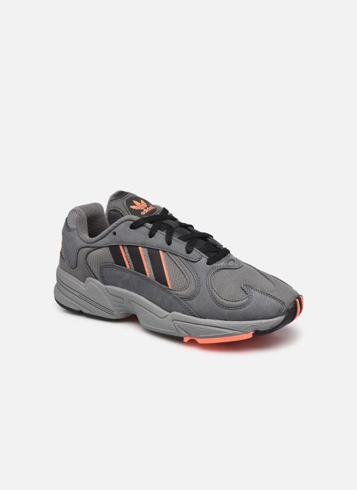 Sneakers adidas originals Yung-1 Groen detail