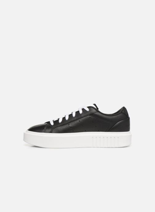 Baskets adidas originals Adidas Sleek Super W Noir vue face