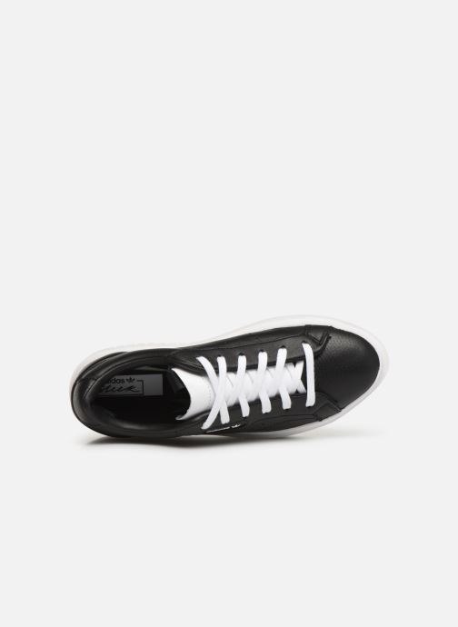 Baskets adidas originals Adidas Sleek Super W Noir vue gauche