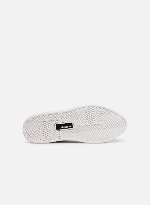 Baskets adidas originals Adidas Sleek Super W Noir vue haut