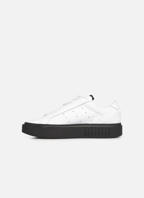 Sneakers adidas originals Adidas Sleek Super W Wit voorkant