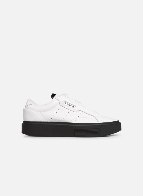 Baskets adidas originals Adidas Sleek Super W Blanc vue derrière