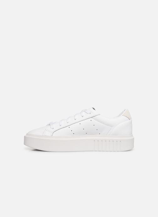 Deportivas adidas originals Adidas Sleek Super W Blanco vista de frente