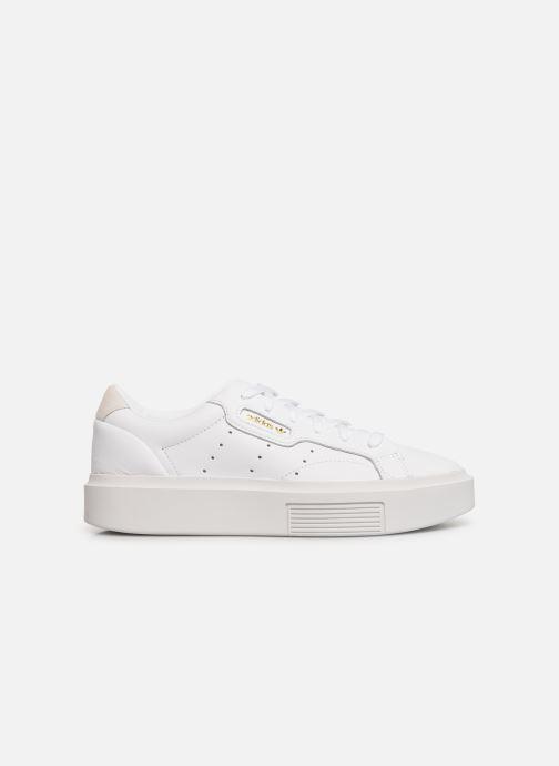 Deportivas adidas originals Adidas Sleek Super W Blanco vistra trasera