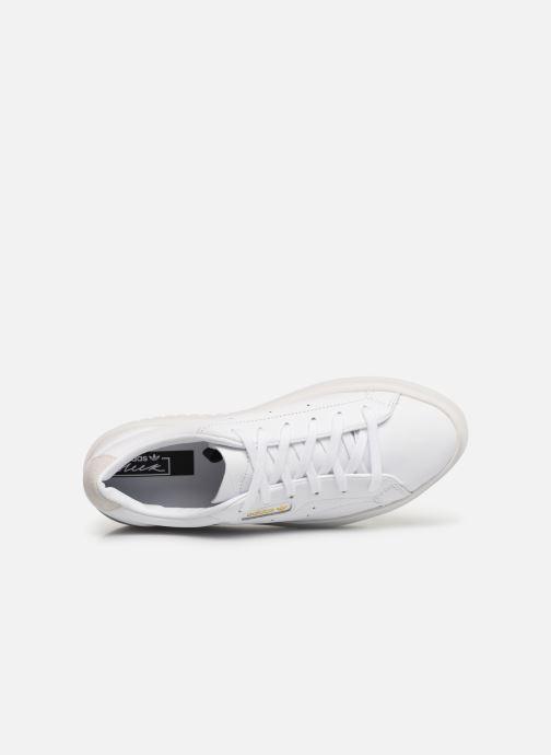 Sneakers adidas originals Adidas Sleek Super W Bianco immagine sinistra