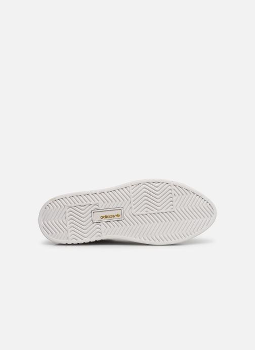 Deportivas adidas originals Adidas Sleek Super W Blanco vista de arriba