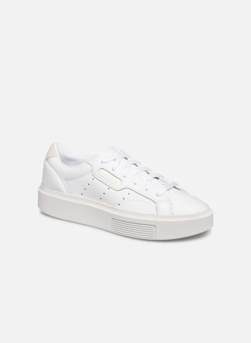Trainers adidas originals Adidas Sleek Super W White detailed view/ Pair view