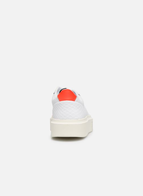 Sneakers adidas originals Adidas Sleek Super W Wit rechts