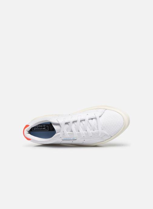 Baskets adidas originals Adidas Sleek Super W Blanc vue gauche