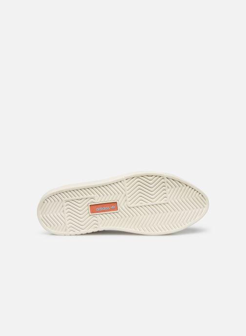 Baskets adidas originals Adidas Sleek Super W Blanc vue haut
