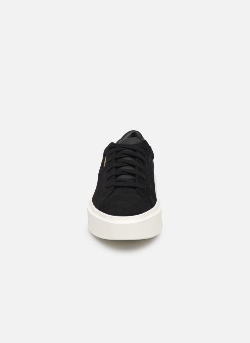 Sneakers adidas originals Adidas Sleek Super W Nero modello indossato
