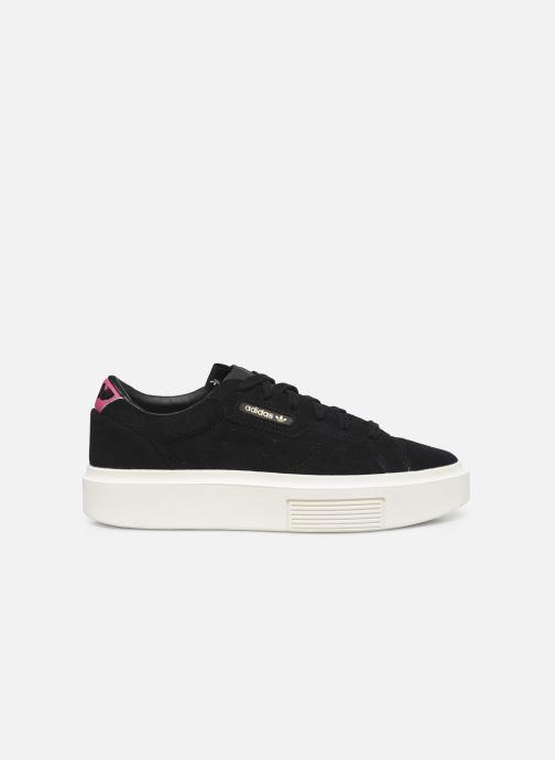 Sneaker adidas originals Adidas Sleek Super W schwarz ansicht von hinten