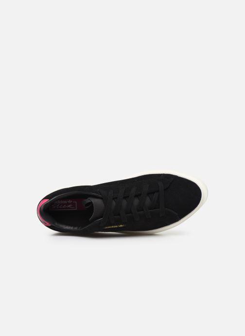 Sneaker adidas originals Adidas Sleek Super W schwarz ansicht von links