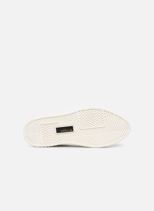 Sneaker adidas originals Adidas Sleek Super W schwarz ansicht von oben