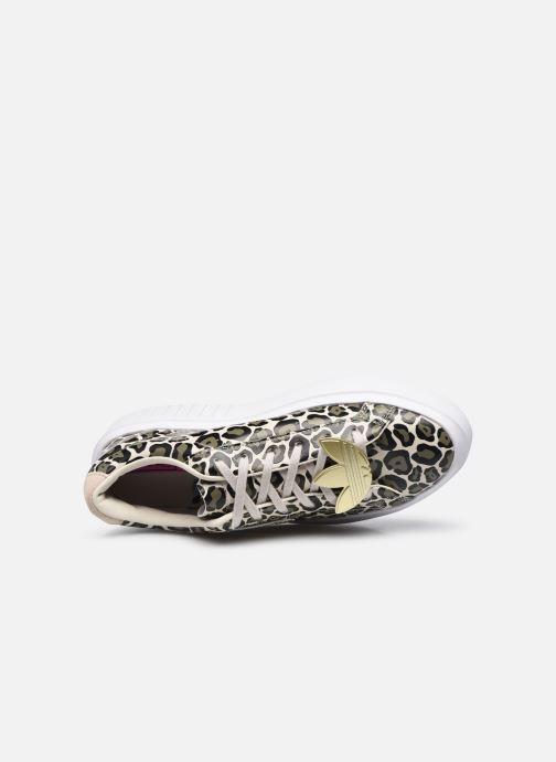 Sneaker adidas originals Adidas Sleek Super W beige ansicht von links