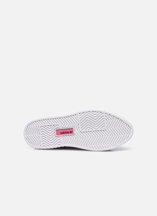 Sneaker adidas originals Adidas Sleek Super W beige ansicht von oben