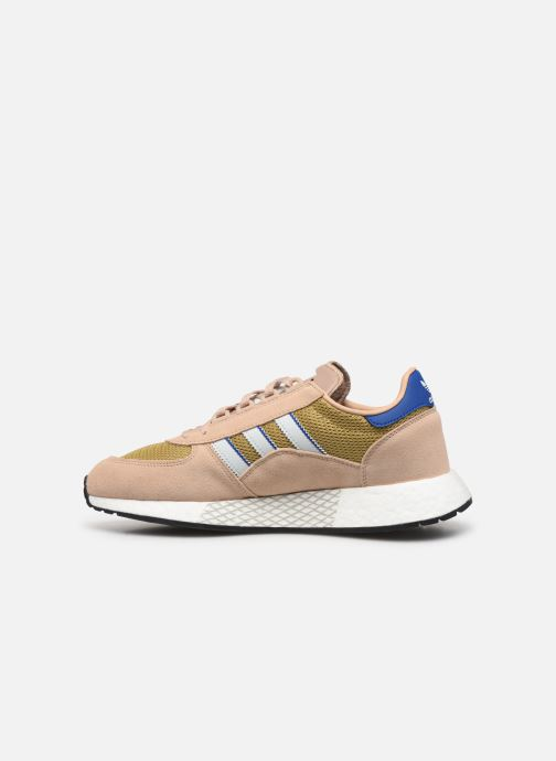 Deportivas adidas originals Marathon Tech Marrón vista de frente