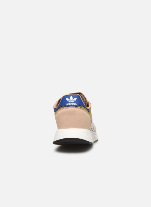 Baskets adidas originals Marathon Tech Marron vue droite