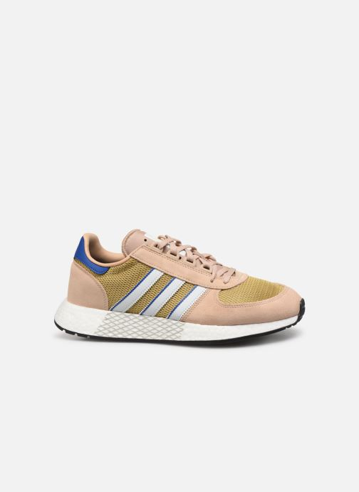 Baskets adidas originals Marathon Tech Marron vue derrière
