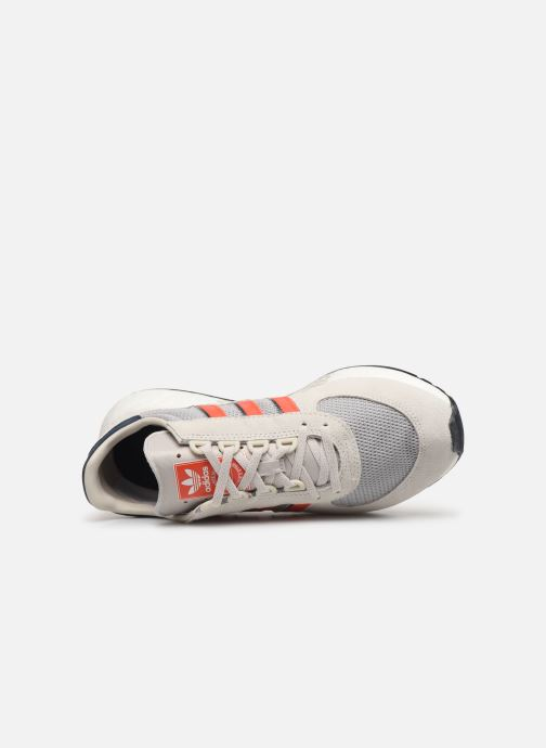 Deportivas adidas originals Marathon Tech Gris vista lateral izquierda