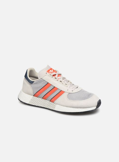 Baskets adidas originals Marathon Tech Gris vue détail/paire