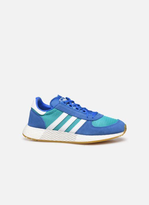Deportivas adidas originals Marathon Tech Azul vistra trasera