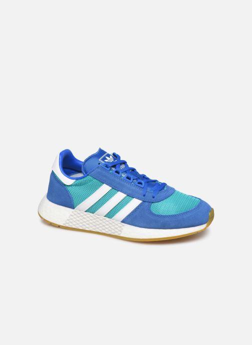 Baskets adidas originals Marathon Tech Bleu vue détail/paire