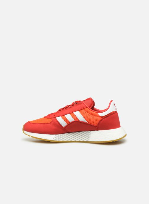 Baskets adidas originals Marathon Tech Rouge vue face