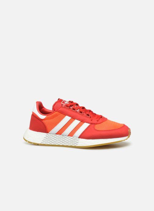 Baskets adidas originals Marathon Tech Rouge vue derrière