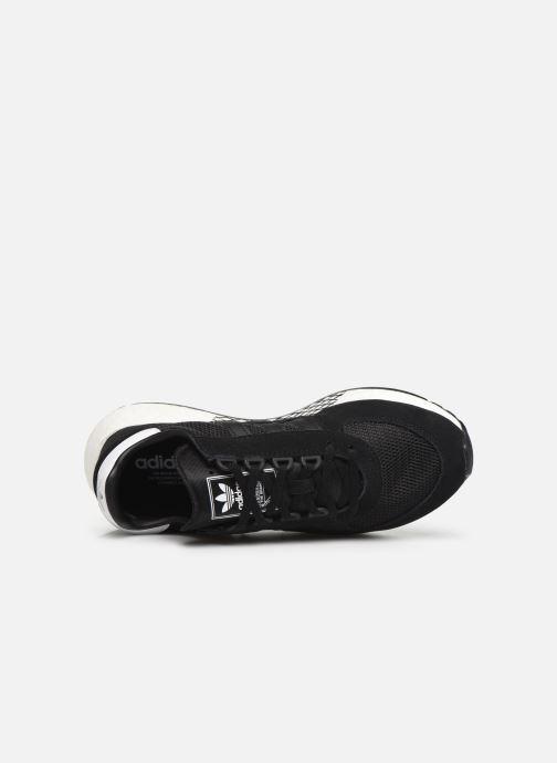 Baskets adidas originals Marathon Tech Noir vue gauche
