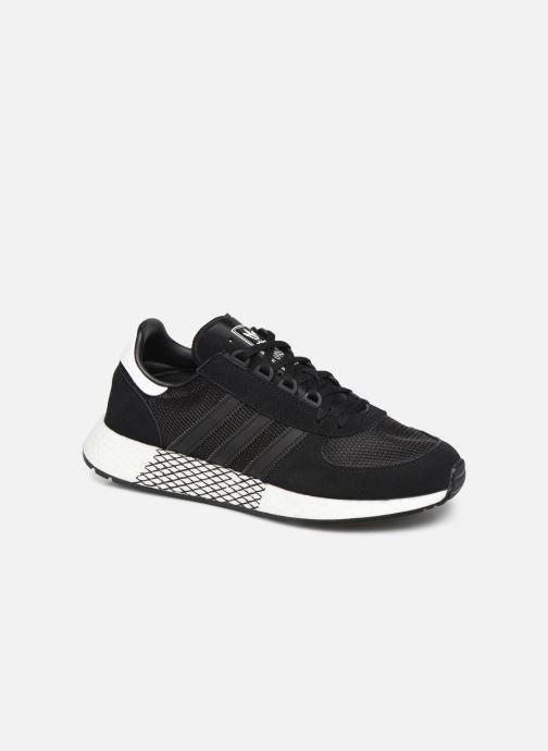 Baskets adidas originals Marathon Tech Noir vue détail/paire
